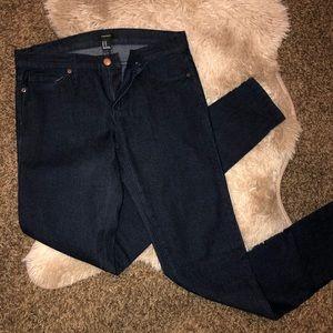 Forever 21 Dark Blue Skinny Jeans
